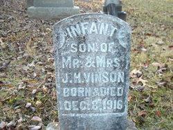 Infant son Vinson