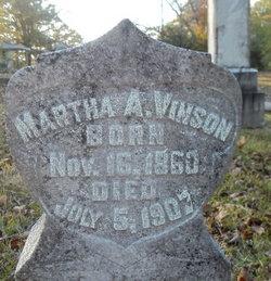 Martha A. <I>Smith</I> Vinson
