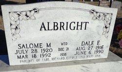 Dale E Albright