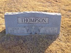 Vergie Opal <I>Angle</I> Thompson