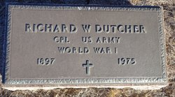 Richard W Dutcher