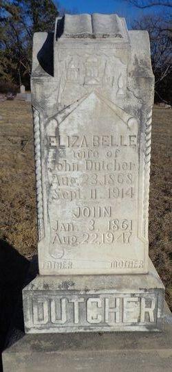 Eliza Belle <I>Swank</I> Dutcher
