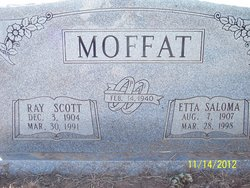 Etta Saloma <I>Sides</I> Moffat