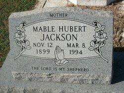 Mable <I>Hubert</I> Jackson