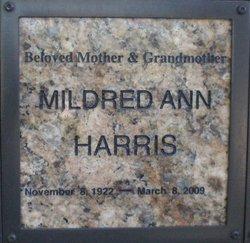 Mildred Ann Harris
