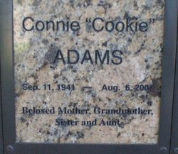 "Connie ""Cookie"" Adams"