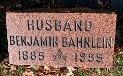 Benjamin Franklin Bahnlein