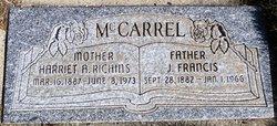 Harriet Ann <I>Richens</I> McCarrell