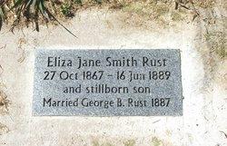 Eliza Jane <I>Smith</I> Rust