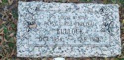 Patsy LaRue <I>Percival</I> Bullock