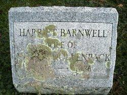 "Harriet J. ""Hattie"" <I>Brown</I> Barnwell"
