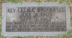 Rev Cecil Carson Brockwell