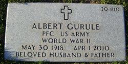 PFC Albert Gurule