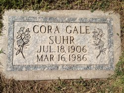 Cora <I>Gale</I> Suhr