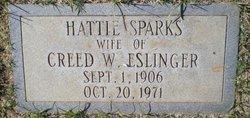 Hattie <I>Sparks</I> Eslinger