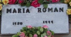 Maria M Roman