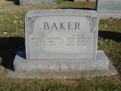 Bertha <I>Tillotson</I> Baker