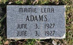 Mamie Lena Adams