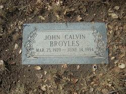 "John Calvin ""Johnny"" Broyles"