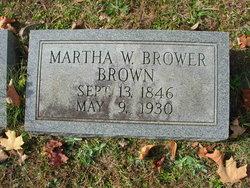 Martha Welker <I>Brower</I> Brown
