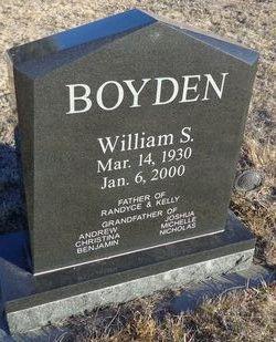 William S Boyden