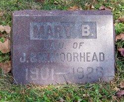 Mary Baxter Moorhead