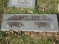 """Josephine May """"Josie"""" <I>White</I> Mussett"""