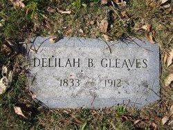 Delilah <I>Baker</I> Gleaves