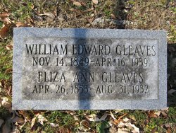 William Edward Gleaves