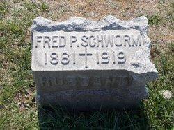 Frederick P Schworm