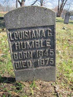 Sarah Catherine Louisiana <I>Gleaves</I> Humble