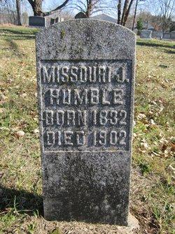 Missouri Jane <I>Gleaves</I> Humble