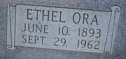 Ethel Ora <I>Cole</I> Smith