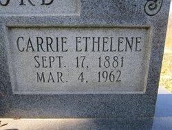 Carrie Ethelene <I>Gleaves</I> Telford