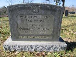 Cordelia E. <I>Gleaves</I> Williams