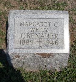 Margaret C <I>Weitz</I> Obenauer