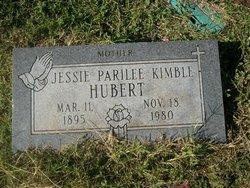 Jessie Parilee <I>Kimble</I> Hubert