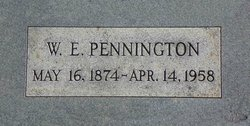 William Erasmus Pennington