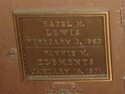 Hazel M. Lewis