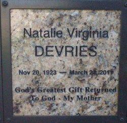 Natalie Virginia Devries
