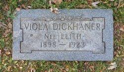 Viola <I>Leith</I> Dickhaner