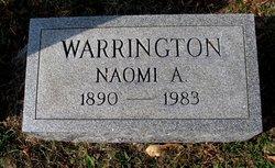 Naomi S <I>Armstrong</I> Warrington