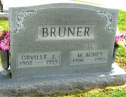 Mary Agnes <I>Mills</I> Bruner
