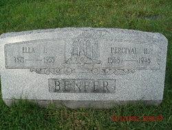 Mary Ella <I>Laudenslager</I> Benfer