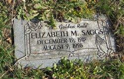 Elizabeth M Saggs