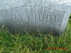 Helen V Lepley