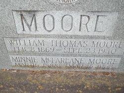 Minnie Etta <I>McFarlane</I> Moore