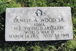 Ernest A Wood, Sr