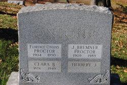 Florence <I>Onions</I> Proctor