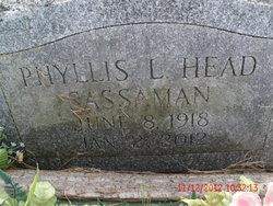 Phyllis <I>Lepley-Head</I> Sassaman